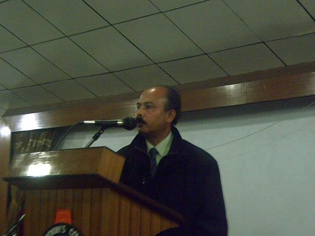 Energy Conservation Day speech by Teacher-2006