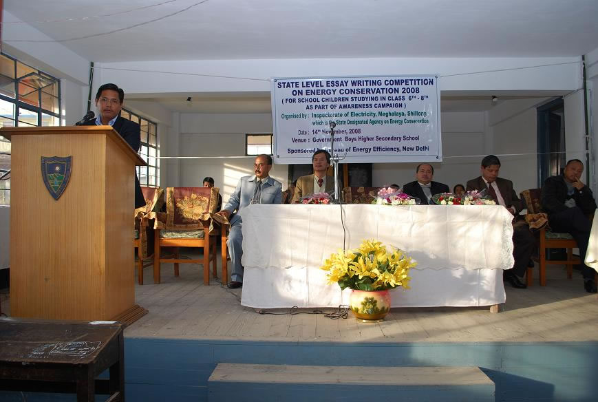 State level Essay Writing competition-2009