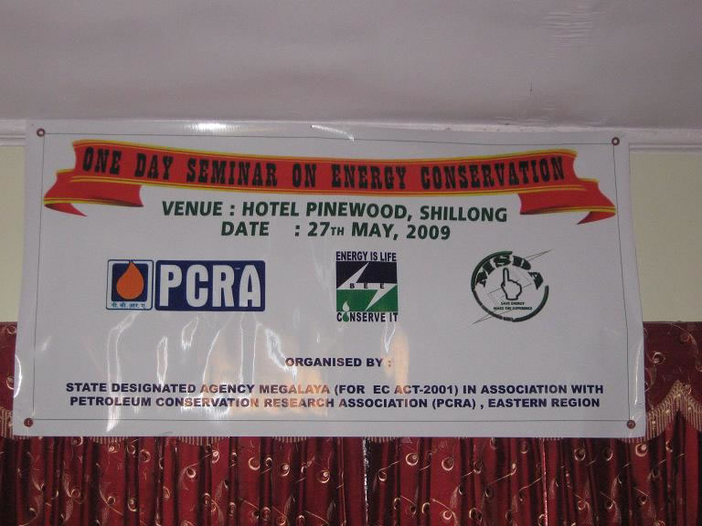 One day seminar energy conservation-2009