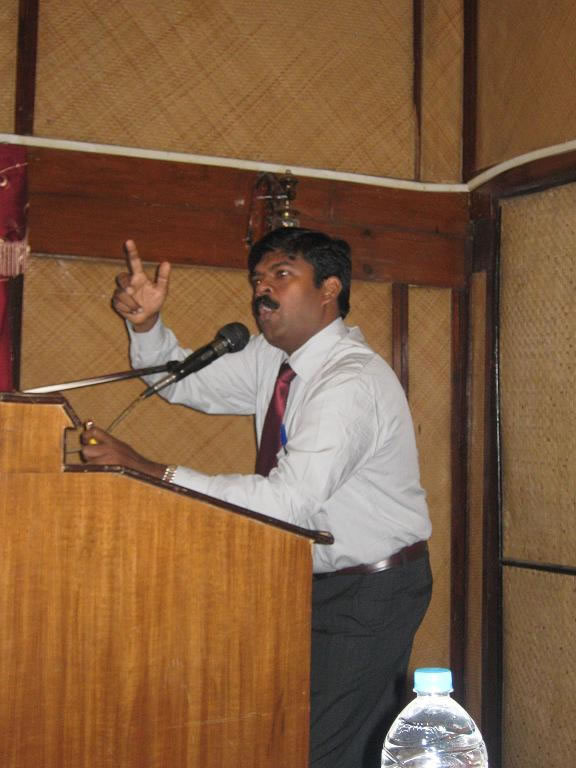 Speech on energy conservation by teacher-2009