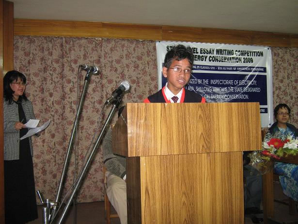 Students Speech  at essay competition