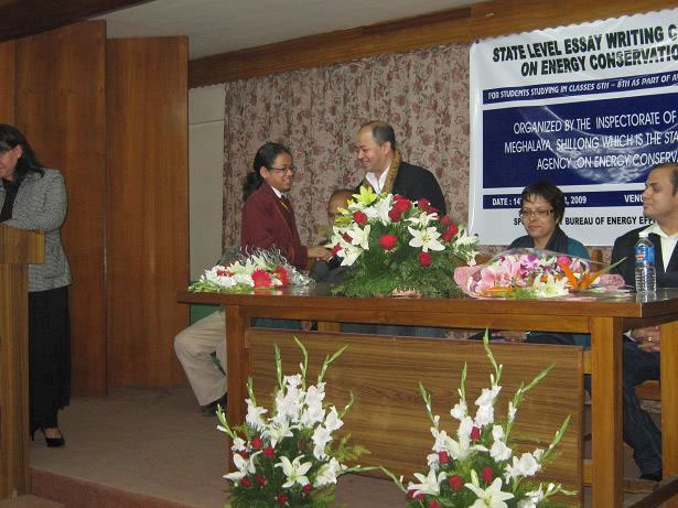 Teachers felicitation  at essay competition